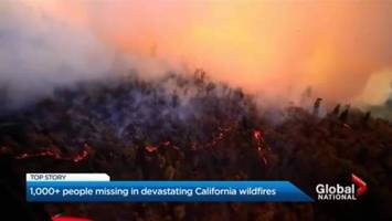 California wildfires: Rain expected to help clear air, but complicate search and rescue
