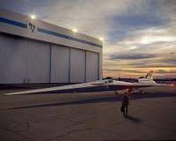Supersonic commercial travel begins to take shape at Lockheed Martin Skunk Works