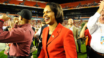 Report: Browns Want to Interview Former Secretary of State Condoleezza Rice for Head-Coaching Job