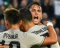Brilliant Bentancur rivalling Ronaldo as Juventus' form player