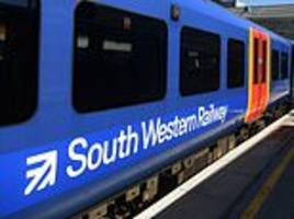 engineering works spark rush hour train chaos on south western railway