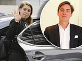 princess beatrice arrives in la after it emerged she's dating edoardo mapelli mozzi