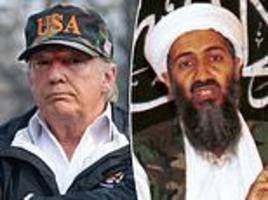 trump blasts navy seals, saying they should have killed osama bin laden sooner