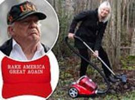 twitter trolls trump with memes after claim california could avoid fires by 'raking forest floor'