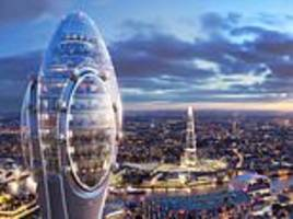 first glimpse at 1,000ft high skyscraper dubbed 'the tulip'