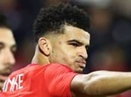 dominic solanke not worried about limited game time at liverpool