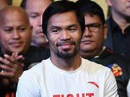 pacquiao to defend world title against broner on january 19