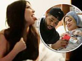 kim kardashian comes face to face with tristan thompson for first time on kuwtk