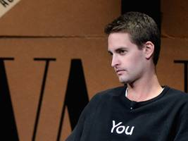 evan spiegel spends most of his time during boardroom meetings on snapchat (snap)