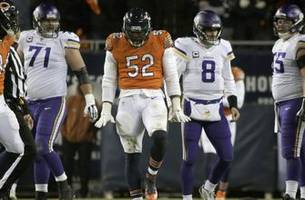 Cousins, Vikings struggle to solve Bears' defense in 25-20 loss