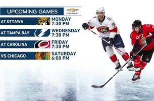 Panthers looking to get back on track as road trip makes a stop in Ottawa