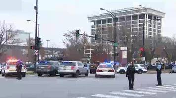 Chicago hospital shooting: Four critical and gunman dead