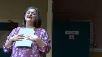 ruth jones on 'terror' of the nightingales stage return