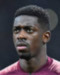 Liverpool and Arsenal on red alert after Barcelona slap £89m price-tag on Ousmane Dembele