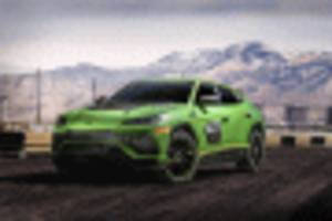 Lamborghini previews one-marque racing SUV with Urus ST-X concept