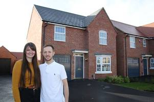 These were the first people to move into a new homes development in Sinfin - here's why they moved there