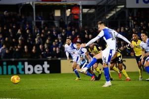 'it's a dive' ex-ref dermot gallagher gives verdict on controversial scunthorpe united goal and bristol rovers penalty