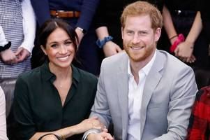 meghan markle will not join prince harry on trip to zambia this month