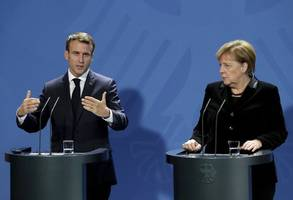 europe must prevent political chaos: macron