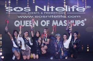 dj neit, dj d'shelz crowned queen of mashups india 2018, powered by sos nitelife at imagica by night