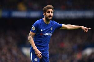 ex-arsenal chief's new club to offer chelsea's cesc fabregas a january escape route