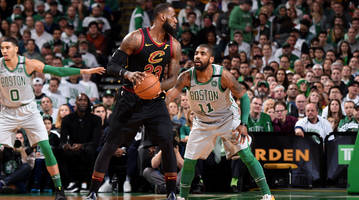 LeBron James Talks Kyrie Irving Trade Details, Returning to Cleveland as Member of Lakers
