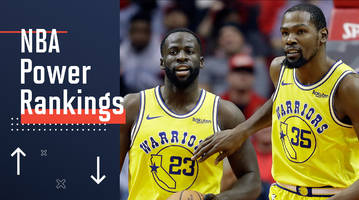 nba power rankings: warriors slide as locker room issues spill over