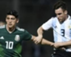 argentina vs mexico: tv channel, live stream, squad news & preview