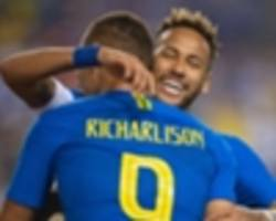 Charismatic Richarlison winning hearts, friends and influencing people with Brazil
