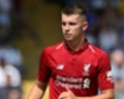 liverpool will consider recalling woodburn from sheffield united loan in january
