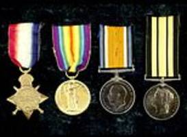 epic bravery of five first world war siblings is remembered as their medals go up for sale