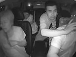 taxi driver speeds through rush-hour traffic to take a sick toddler to hospital