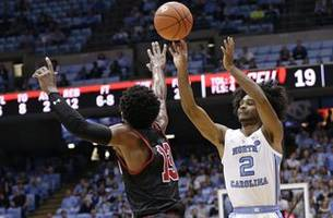 Little, Johnson lead No. 7 UNC past Saint Francis 101-76