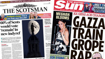 scotland's papers: union 'boost' and gascoigne assault trial