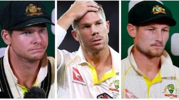 steve smith, david warner & cameron bancroft bans not reduced