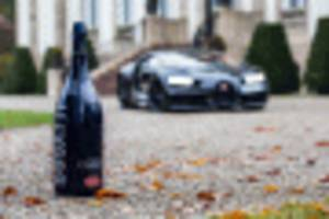 champagne carbon crafts a bespoke bottle for bugatti's 110th birthday