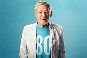 sir ian mckellen to celebrate his 80th birthday at exeter northcott