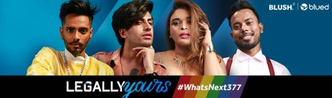 standing strong with lgbtqi community, gay dating app, blued launches #whatsnext377 campaign