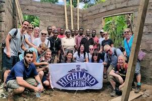 perthshire team's charity trip to africa