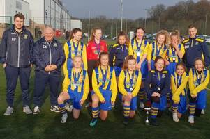 wishaw wycombe girls celebrate league title win for second year in a row
