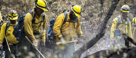 trump repeatedly errs on california wildfires
