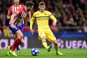 christian pulisic now 'odds-on' to join chelsea over liverpool
