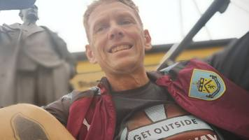3,000 miles & half a million calories - the burnley fan running to every away game