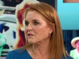 duchess of york reveals how she was thinking of diana during harry and meghan's wedding