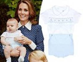 prince louis' outfit from first photoshoot sold out instantly