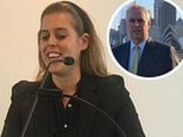 princess beatrice joins father andrew in australia following her trip to la