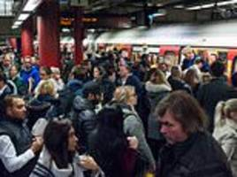 london underground's workers to strike the weekend before christmas