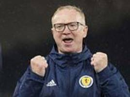 alex mcleish hails scotland players after reaching nations league play-offs