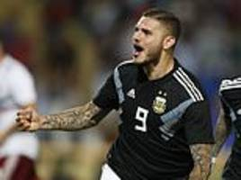 Argentina 2-0 Mexico: Mauro Icardi and Paulo Dybala on target as hosts cruise to victory