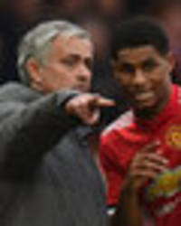 man utd news: marcus rashford told not to leave old trafford because of jose mourinho